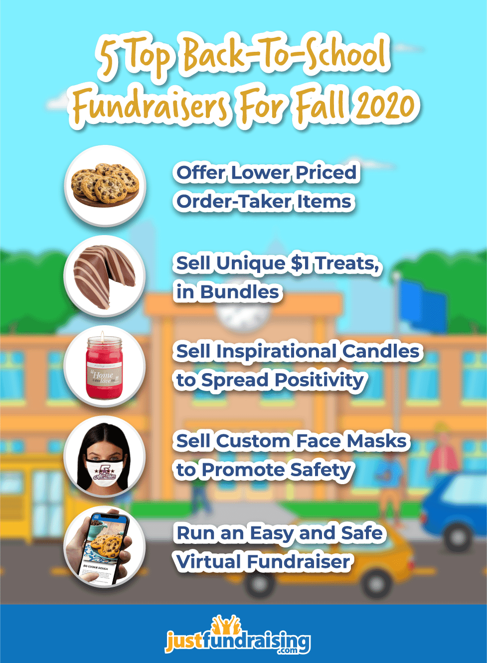 5 top back to school fundraisers