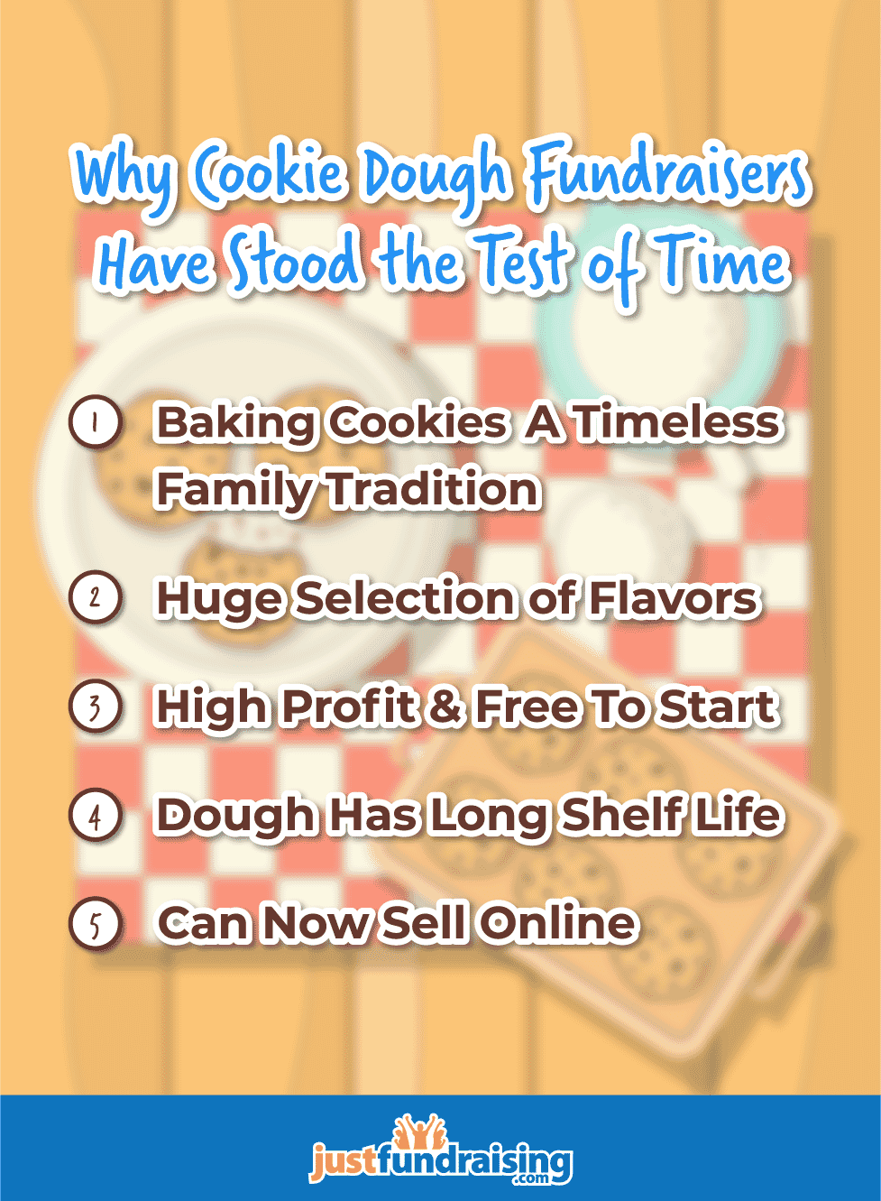 Time tested cookie dough fundraisers