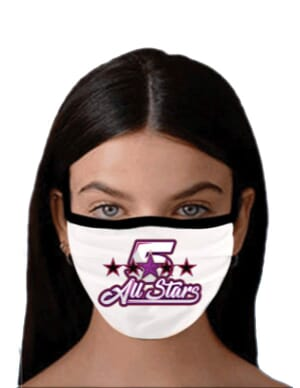 Custom face mask fundraiser program
