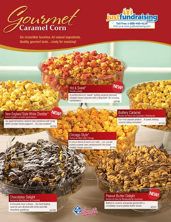 Caramel Popcorn Fundraising Program