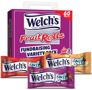 Welch's Fruit Rolls Fundraiser